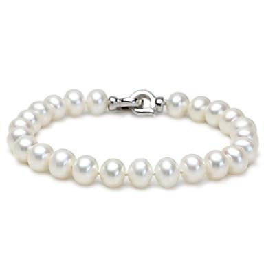 Damen Ketten- & Glieder-Armbänder Strang-Armbänder Schmuck Natur Freundschaft Modisch Handgemacht Perle Runde Form Geometrische Form