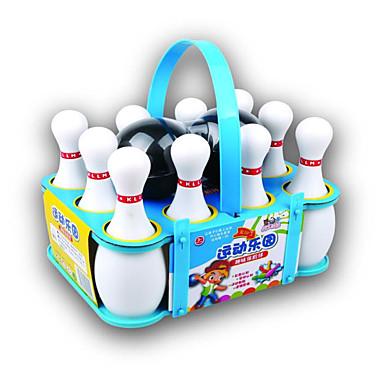 Bolas / Brinquedos de Boliche / Jogos de boliche Portátil Plásticos Para Meninos Dom