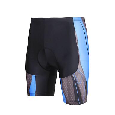 Pehmustetut shortsit pyöräilyyn Miesten Miehet Pyörä ShortsitPyöräily Nopea kuivuminen Anatominen tyyli Ultraviolettisäteilyn kestävä