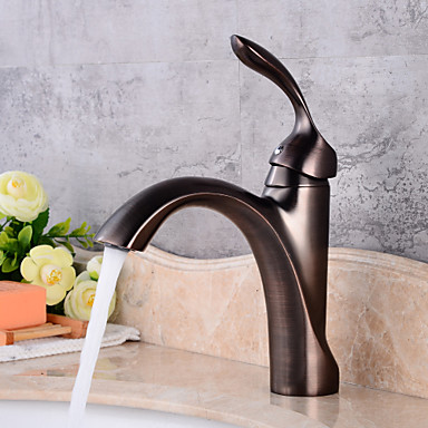 Clássica Válvula Cerâmica Uma Abertura Torneira pia do banheiro