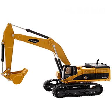 H1 / Hua Yi Escavadeiras Caminhões & Veículos de Construção Civil Carros de Brinquedo Modelo de Automóvel 01:50 Simulação Liga Para