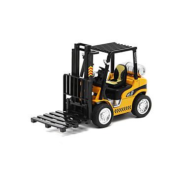 Munkagépek Villás targonca Toy Teherautók és építőipari járművek Játékautók Fémházas kisautók Gyermek Uniszex Fiú Lány Játékok Ajándék