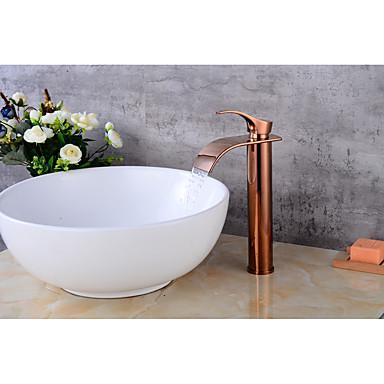 Moderna Conjunto Central Válvula Cerâmica Monocomando e Uma Abertura Torneira pia do banheiro
