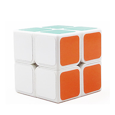 Rubik's Cube 2*2*2 Cubo Macio de Velocidade Cubos mágicos Cubo Mágico Adesivo Liso Concorrência Dom Unisexo