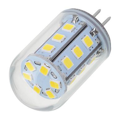 5.5W G4 LED Bi-Pin lamput T 24 LEDit SMD 2835 Lämmin valkoinen Kylmä valkoinen 200-300lm 2700-6500