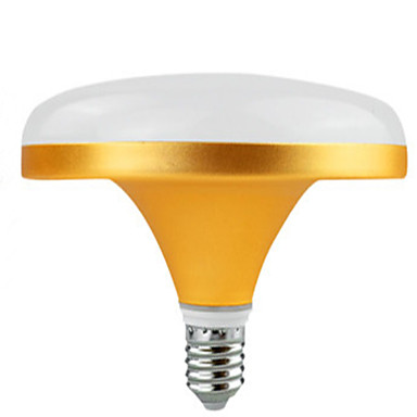 30W 2400 lm E27 Lâmpada Redonda LED 72 leds SMD 5730 Branco Quente Branco Frio AC220