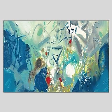 Pintados à mão Abstrato Tela de pintura Pintura a Óleo Decoração para casa 1 Painel