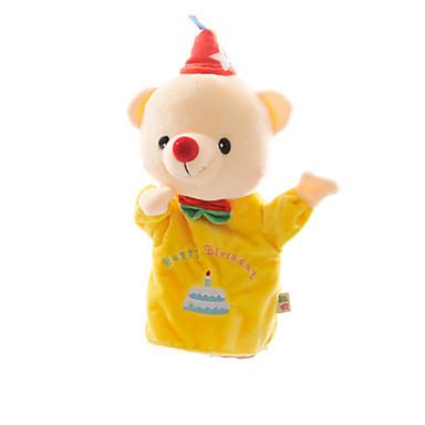 Fantoches de dedo Fantoches Fantoche Fofinho Adorável Urso Teddy Felpudo Crianças Dom