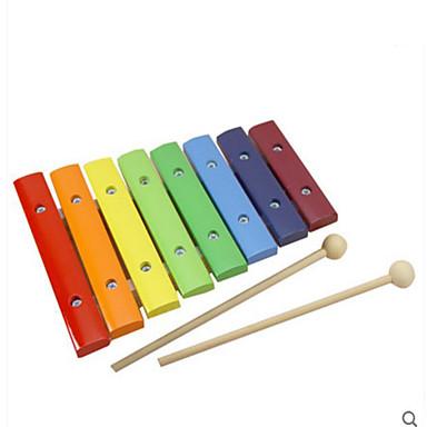 MWSJ Xilofone Quadrada Diversão Instrumento Musical de Brinquedo Unisexo Brinquedos Dom