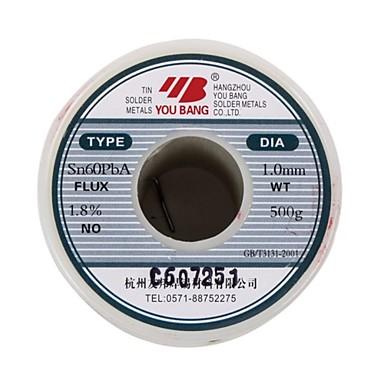 Aia aktivní pájecí série sn60pba - 1,0 mm - 500 g / objem