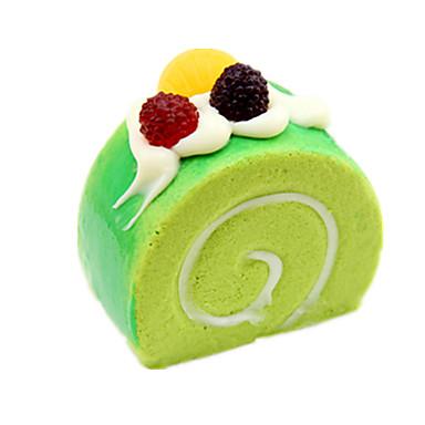 Spielessen Modellbausätze Spielzeuge Kreisförmig Kuchen Dessert PU (Polyurethan) Unisex Stücke