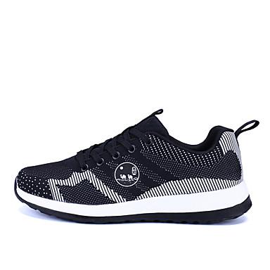 Běžecké boty Obuv na tenis Boty na běžné nošení Pánské Vevnitř Výkon Cvičení Venkovní Prodyšná síťovina PU Látka PVC Lepená kůže