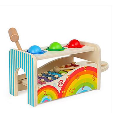 إكسيليفون مطرقة / الباوند لعبة ألعاب الأطفال و الرضع لهو التعليم Fun & Whimsical للجنسين صبيان فتيات ألعاب هدية