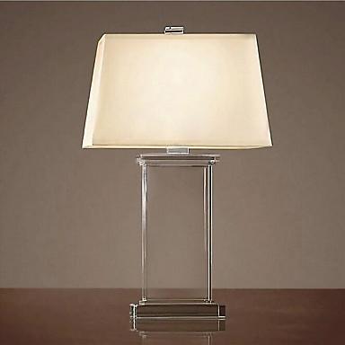 40 moderní - současný design tradiční klasika Stolní lampa , vlastnost pro Křišťál , s Galvanicky potažený Použití Stmívač Vypínač