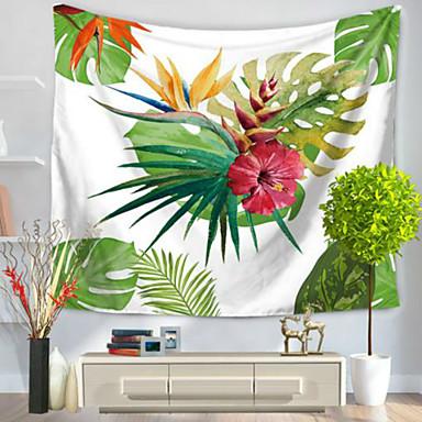 Blumen Wand-Dekor 100% Polyester Ländlich Wandkunst, Wandteppiche Dekoration