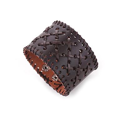 Pánské Kožené náramky Šperky příroda Módní Kožené Slitina Nepravidelný Šperky Zvláštní příležitosti Dar Kostýmní šperky
