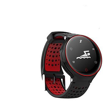 baratos Relógios Senhora-Homens Relógio de Moda Digital Borracha Azul / Vermelho / Verde 30 m Impermeável Analógico-Digital Vermelho Verde Azul