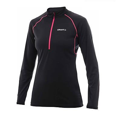 Women's Running T-Shirt Long Sleeves Fitness, Running & Yoga Sweatshirt for Running/Jogging Exercise & Fitness Black Sky Blue