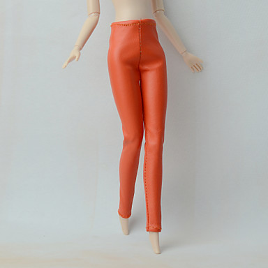 Tights Faux Leather Other Favor For Barbie Doll Pants For Girl's Doll Toy
