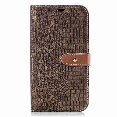 Capinha Para Samsung Galaxy J5 (2016) / J3 (2016) Carteira / Porta-Cartão / Flip Capa Proteção Completa Sólido Rígida PU Leather para J5 (2016) / J3 Prime / J3 (2016)