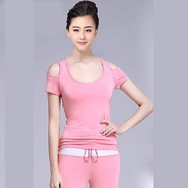 Yoga Tops Moisture Wicking Wicking Casual/Daily Sports Wear Yoga Pilates Everyday Use Women's