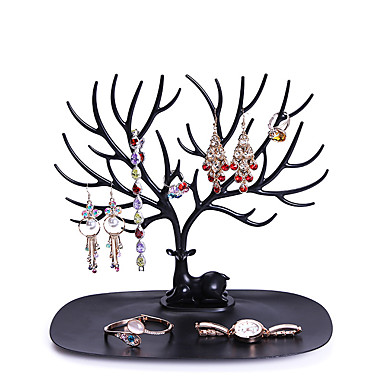 Necklace Holder Bracelet Stand Jewelry Organizer  Jewelry Tree Decorative Deer Antler Tree Design