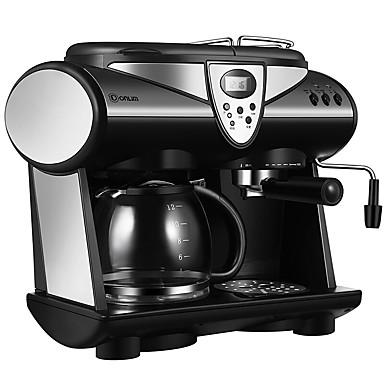 Kaffemaskin Timeglass Semi-automatisk Sundhetspleie Reservasjonsfunksjon Oppreist design 220V