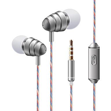 soyto KDK 204 I øret Med ledning Hodetelefoner dynamisk Mobiltelefon øretelefon Stereo Med mikrofon Med volumkontroll Headset