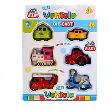 Carros de Brinquedo Veículos de Metal Brinquedos Motocicletas Trem Caminhão de Bombeiro Brinquedos Rectângular Cauda Motocicletas Liga de