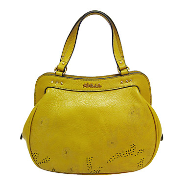 Women Bags Cowhide Evening Bag for Event/Party Casual All Seasons Yellow