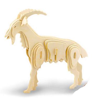 voordelige 3D-puzzels-Robotime 3D-puzzels Legpuzzel Houten modellen Dinosaurus Insect Dieren DHZ Puinen Klassiek Kinderen Unisex Speeltjes Geschenk