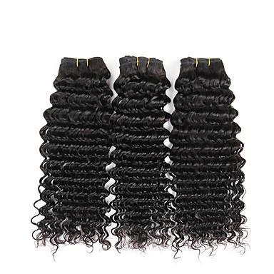 Maláj haj Mély hullám Szűz haj Az emberi haj sző Emberi haj sző Human Hair Extensions