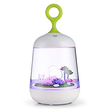 BRELONG® 1conjunto LED Night Light USB Sensor de toque Cores Variáveis Decorativa