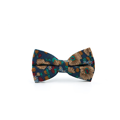 Men's Casual Bow Tie Print