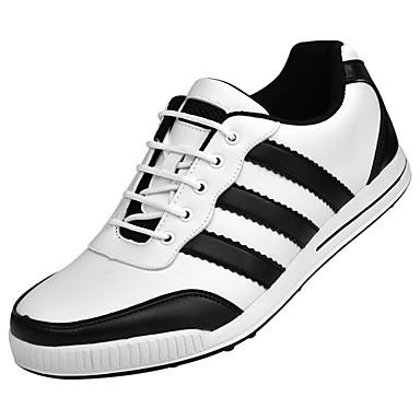Sapatos para Golf Homens Golf Vestível Respirável Treinamento Casual Esportes Espetáculo Praticar Esportivo Borracha
