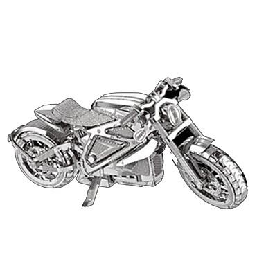 Lekebiler 3D-puslespill Metallpuslespill Moto Hest GDS Chrome Metall Klassisk Barne Gutt Unisex Gave