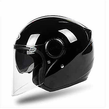 GSB G-259 Motorcycle Helmet Electric Car Half-Covered Harley Personality Locomotive Men And Women Four Seasons Common  Dual Lens