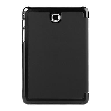 Capinha Para Samsung Galaxy A Tab 8.0 Capa Proteção Completa Tablet Cases Sólido Côr Sólida Rígida PU Leather para