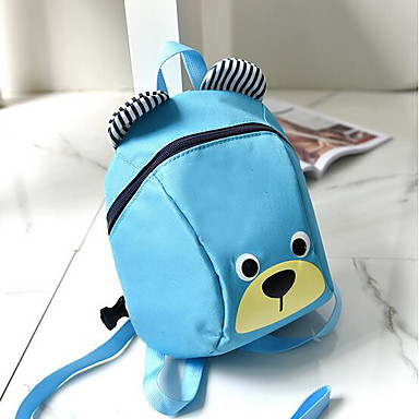 Kid Bags Nylon Backpack for Casual All Seasons Blue Black Red Fuchsia
