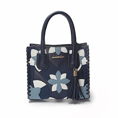 Women Bags PU Shoulder Bag for Outdoor Fall All Seasons Blue