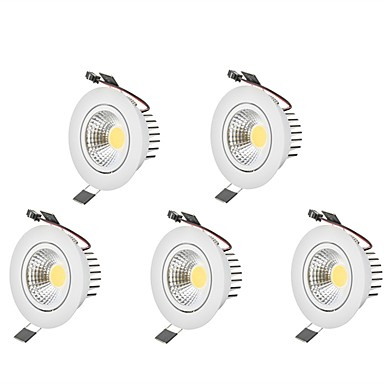6 W 1 LED Beads Decorative LED Downlights Warm White Cold White 85-265 V Children's Room Living Room / Dining Room Bedroom / 5 pcs