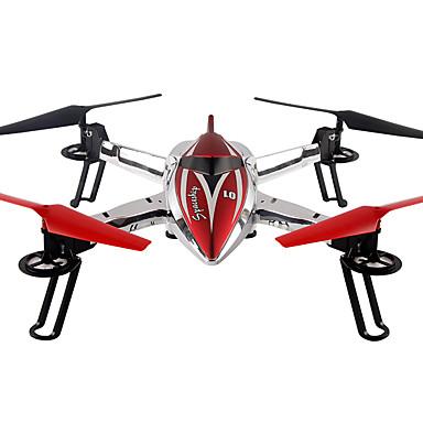 RC Drone WL Toys Q212 4CH 6 Eixos 2.4G - Quadcópero com CR FPV Luzes LED Retorno Com 1 Botão Seguro Contra Falhas Modo Espelho Inteligente