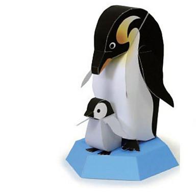 voordelige 3D-puzzels-3D-puzzels Bouwplaat Modelbouwsets Pinguïn Beer DHZ Klassiek Kinderen Unisex Speeltjes Geschenk