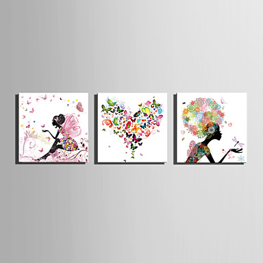 Abstract, One Panel Canvas Square Print Wall Decor Home Decoration