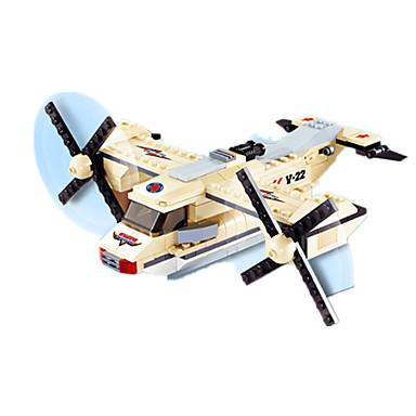 JIE STAR Blocos de Construir Brinquedos de Montar Quadrada Pato Aeronave Para Meninos Unisexo Dom