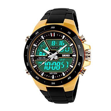 Relógio inteligente YYSKMEI1021 para Suspensão Longa / Impermeável / Multifunções / Esportivo Cronómetro / Relogio Despertador / Cronógrafo / Calendário / Dois Fusos Horários