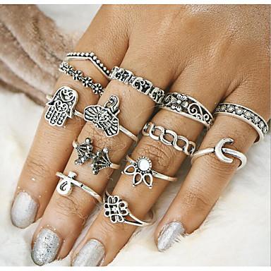 Női Gyűrű - Ötvözet Vintage Egy méret Arany / Ezüst Kompatibilitás Napi