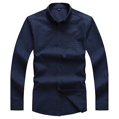 Men's Daily Party/Cocktail Going out Vintage Casual All Seasons Spring Shirt
