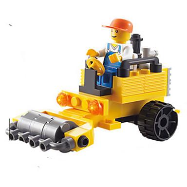 Carros de Brinquedo Blocos de Construir Veiculo de Construção Quadrada Unisexo Dom