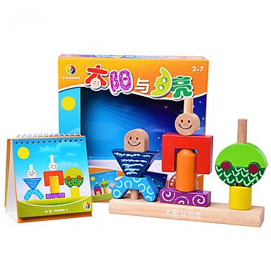 Blocos de Construir MOON Legal Crianças Brinquedos Dom